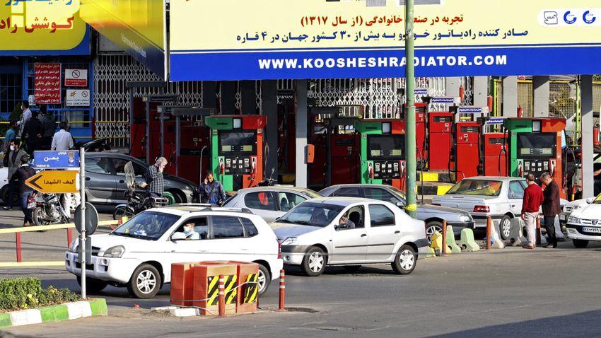 Kibertámadás hátráltatja a tankolást Iránban